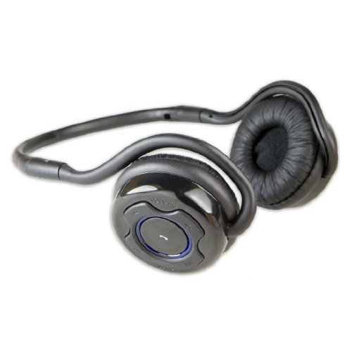 Syba Cl-Aud23041 Bluetooth V2.1 + Edr Headphone With Microphone - Retail Packaging - Black