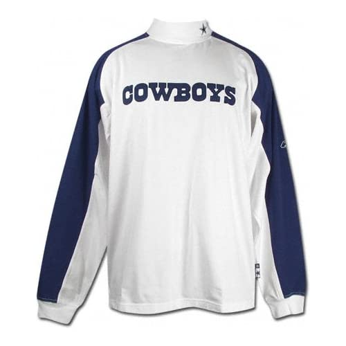 Amazon.com: Dallas Cowboys Sideline Coaches Mock Turtleneck