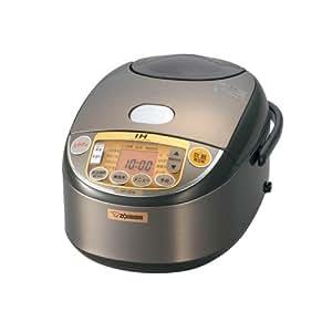 象印 炊飯器 IH式 5.5合ブラウン  NP-VD10-TA