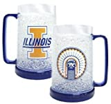 Illinois Fighting Illini Crystal Freezer Mug