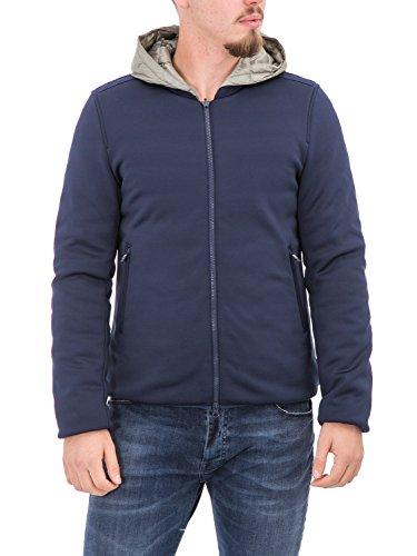 BOSIDENG - Giubbotto reversibile uomo con cappuccio f06itm19 m blu