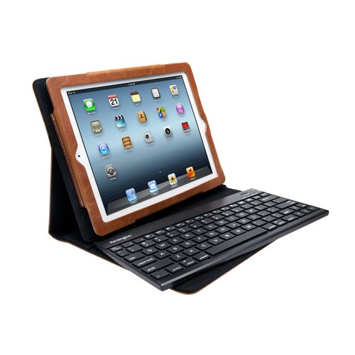 Kensington KeyFolio Pro2 Removable Keyboard Case & Stand for iPad 4 with Retina Open out, New iPad (3rd Gen) and iPad 2