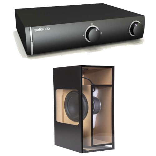 Polk Audio Swa500 Power Amplifier For Polk Csw In-Floor Subwoofers Plus A Polk Audio Csw100 In-Floor/Ceiling/Wall Subwoofer