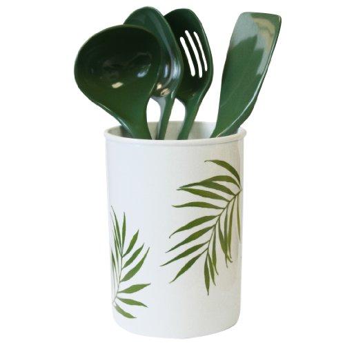 Corelle Coordinates Bamboo Leaf 5 Piece Utensil Set