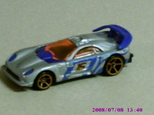 2008 Hot Wheels Mystery Cars #189 Callaway C 7 w/ Orange OH5SPs - 1