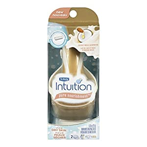 Schick Intuition Pure Nourishment with Coconut Milk and Almond Oil Razor