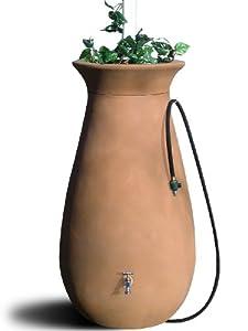 Algreen 81001 Cascata 65-Gallon Rain Water Collection and Storage System