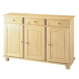 Mobile per la casa in legno grezzo 3 ante+3 cassetti mod. Altea Arredamento della casa   cliente recensione Voto