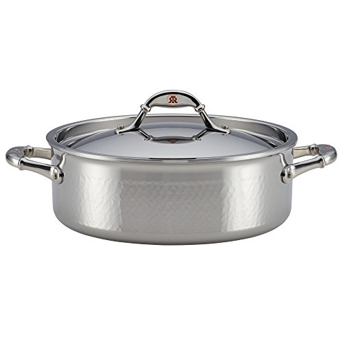 Ruffoni Symphonia Prima 5-Quart Covered Braiser - Stainless Steel