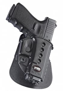 Fobus Standard Holster RH Paddle GL2E2 Glock 17, 19, 22, 23, 31, 32, 34, 35 , Walther PK 380
