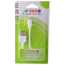 Erd Pc-24 Small Usb Data Cable for Erd Pc-24 Small White