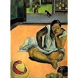 """Kunstdruck (Paul Gauguin - Die Schmollende) als Poster, Leinwandbild, Dibondbild oder auf Acrylglas in verschiedenen Formatenvon """"bilder-bilderrahmen.de"""""""
