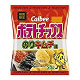 カルビー ポテトチップス のりキムチ味 58g×12袋