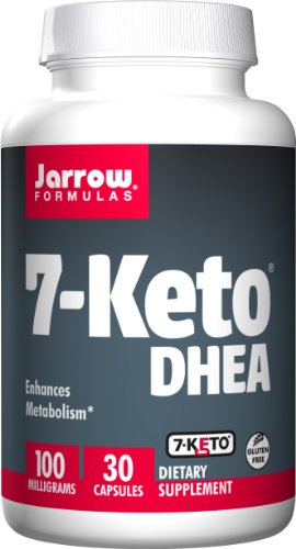 Jarrow Formulas 7-Keto DHEA, Enhances Metabolism, 100 mg, 30 Caps
