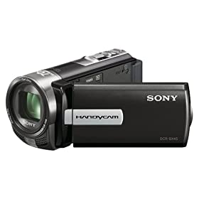 Sony Handycam DCR-SX45/B 60X Zoom Digital Camcorder (DCRSX45/B)