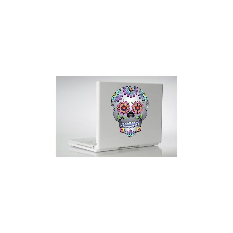 Day of the Dead Sugar Skull wall, laptop, car, window, MacBook vinyl decal