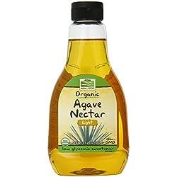 Now Foods Organic Light Agave Nectar, 23.28 Ounce