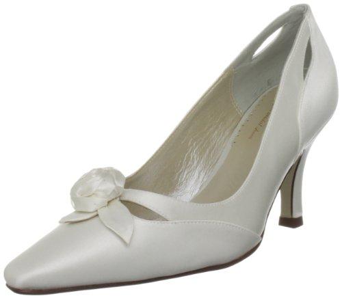 Origa Women's Iris X Ivory Silk Bridal 1327750 4 UK