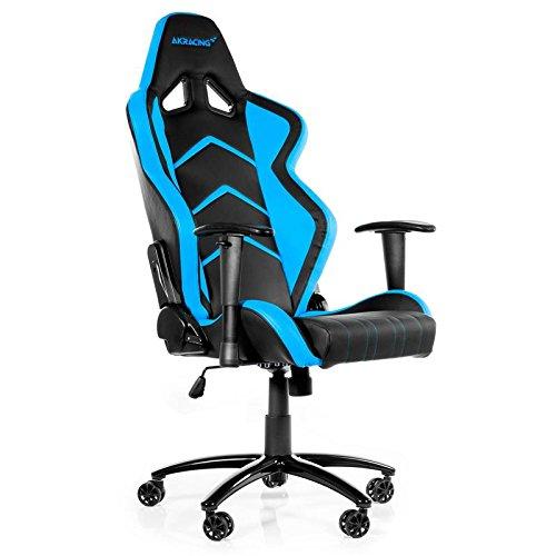 AK Racing Player PC Gaming Chair - Black and Blue - AK-K6014-BL