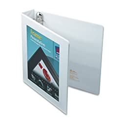 Avery Framed Presentation Locking View Binder, 1.5\