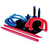 CSI Deluxe Rubber Horse Shoes with Indoor and Outdoor Stakes