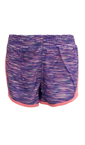 90-degree-by-reflex-kids-toddler-running-shorts-childrens-activewear-lilac-pink-space-dye-veiled-ros