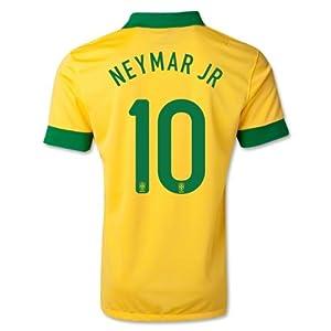 Buy #10 NEYMAR JR Brazil Home Kid Soccer Jersey & Matching Short Set - Size: Youth Medium 5-7 y.o. by BFA