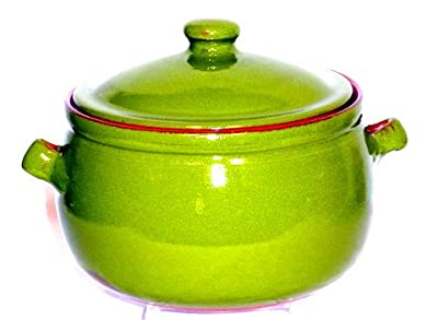 Genuine Terracotta 3l Casserolestew Pot - Rio Green from Be-Active