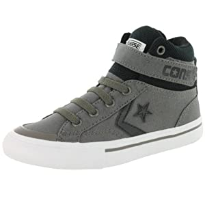 Converse Boys' Chuck Taylor Pro Blaze Strap High Top Sneaker Charcoal 2 M US