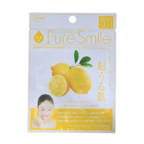 ピュアスマイルエッセンスマスクシリーズ レモン100枚セット