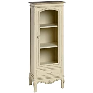 shabby chic dresser display cabinet in cream perfect