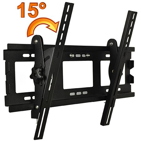 Masione™ High Quality Lcd 15°Adjustable Angle Plasma Flat-Panel Tv Wall Mount Bracket 15 Degrees Adjustable For 34'' 37'' 42'' 46'' 50'' Inches Vesa Up To 600Mm X400Mm