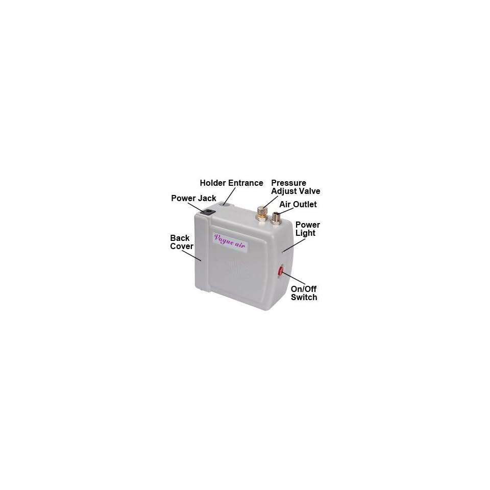 Useful Airbrush Air Compressor Nail Tattoo Cake Decorating Stylish Design Machine Equipment Device Facility