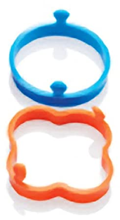 The Chefs Toolbox Silicone Egg Rings