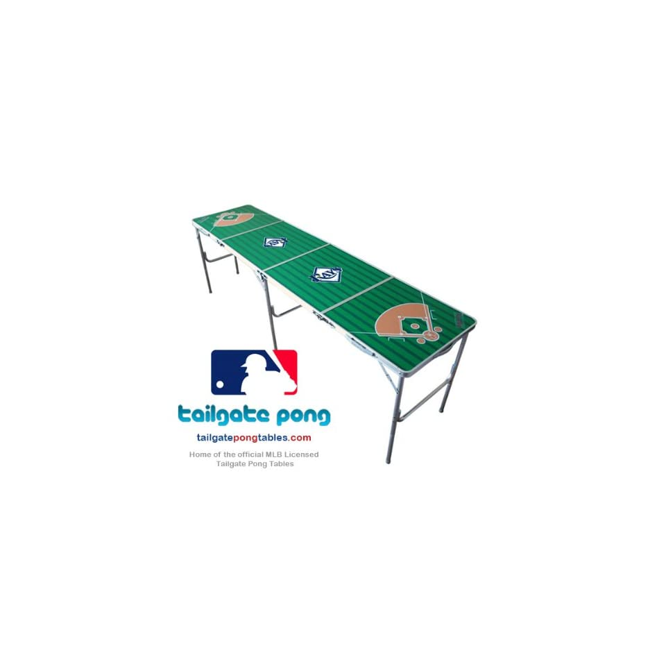 Tampa Bay Rays MLB Baseball Tailgate Beer Pong Table   8