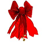 Red Bow with Jingle Bells