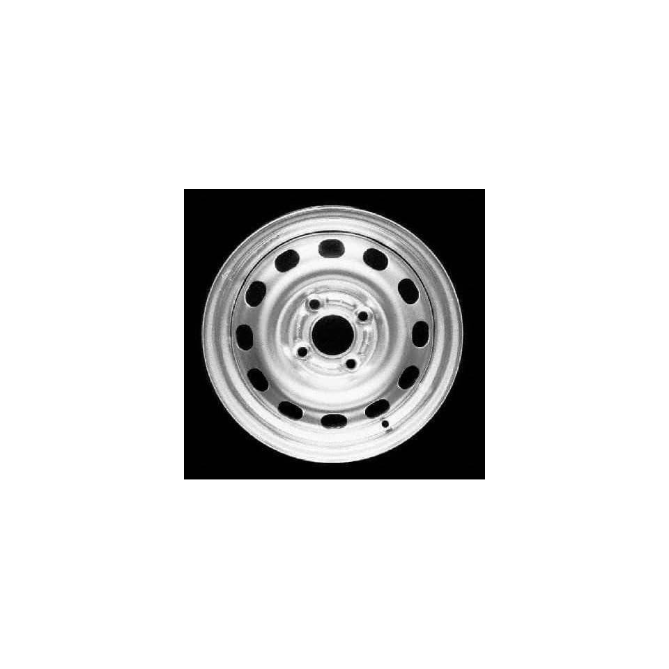 95 99 FORD CONTOUR STEEL WHEEL (PASSENGER SIDE) = (DRIVER RIM 14 INCH, Diameter 14, Width 5.5 (12 HOLES), BLACK, 1 Piece Only (1995 95 1996 96 1997 97 1998 98 1999 99) STL03114U45N