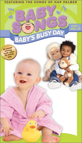 Baby Songs - Baby'S Busy Day [Vhs] front-1045625