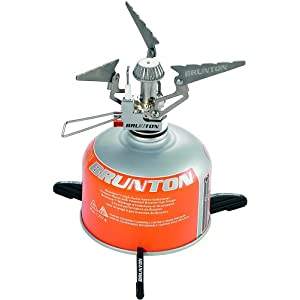 Brunton Raptor Foldable Canister Stove with Piezo Ignition