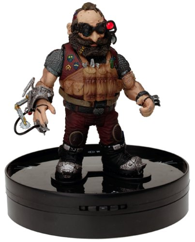 "Shadowrun Duels Action Figure Game: Rigger ""Silver Max"" - Series #1"