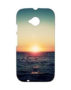 Mobifry Back case cover for Motorola Moto E 2nd generation Mobile (Printed design)