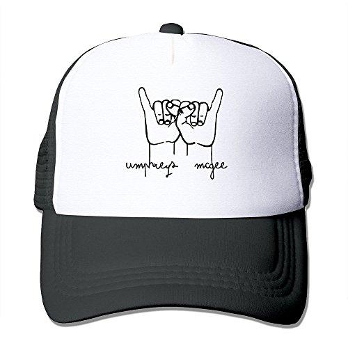 MZONE Unisex Mesh Caps Hat American Progressive Rock Band Umphrey's McGee Running Caps Black (Umphreys Mcgee Tickets compare prices)
