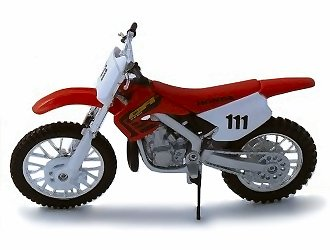 1:18 échelle Honda CR250R moto cross