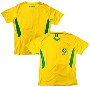 Buy Brazil Soccer Yellow Panel Alternate 2014 Training Jersey by Rhinox