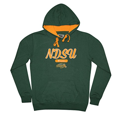 NCAA Youth NORTH DAKOTA STATE BISON Athletic Pullover Hoodie / Sweatshirt L Green