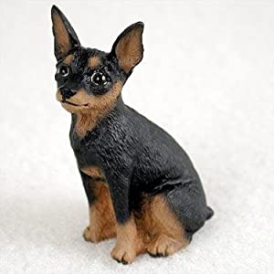 Miniature Pinscher Miniature Dog Figurine