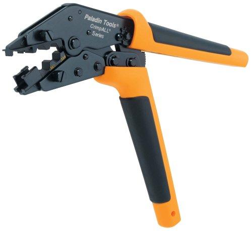 Paladin Tools 8045 RG6/RG6Q and Cat5 Cat6 CrimpALL Crimper