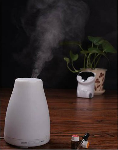 Learn More About Aroma Diffuser Ultrasonic Atomizer Air Humidifier 7-Colour Night Light