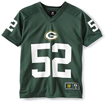 NFL Green Bay Packers Clay Mathews High Performance Name And Number Tee Boys