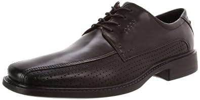 亚马逊美国_ECCO  New Jersey Perf Tie Oxford爱步男款镂空系列休闲皮鞋